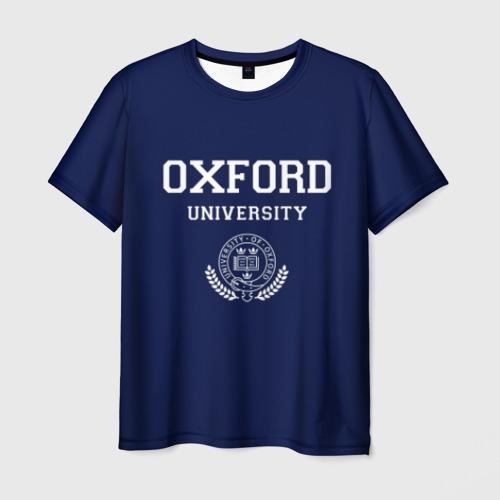 Мужская футболка 3D  Фото 01, University of Oxford_форма