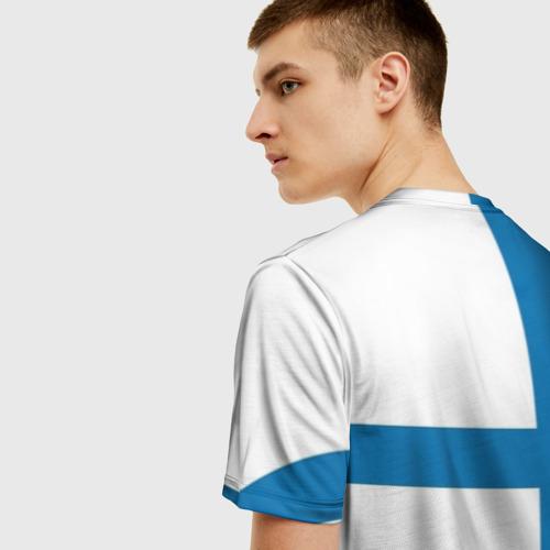 Мужская футболка 3D Сборная Финляндии  Фото 01