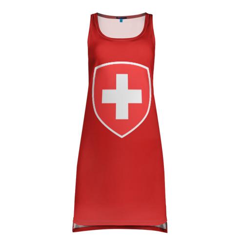 Платье-майка 3D Сборная Швейцарии  Фото 01