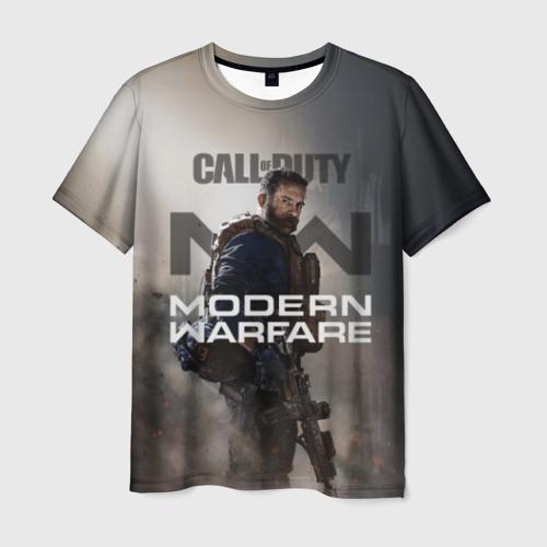 Мужская футболка 3D COD: MODERN WARFARE 2019 Фото 01