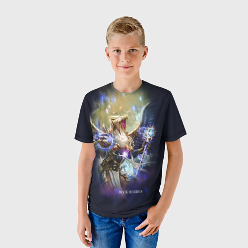 Детская футболка 3D Ревущий Гор