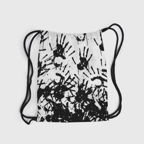 Рюкзак-мешок 3D Отпечатки - DEATH STRANDING Фото 01