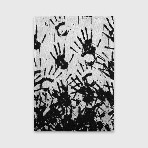 Обложка для автодокументов Отпечатки - DEATH STRANDING Фото 01