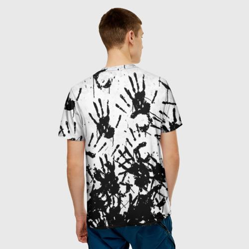 Мужская футболка 3D Отпечатки - DEATH STRANDING Фото 01