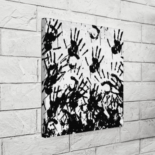 Холст квадратный Отпечатки - DEATH STRANDING Фото 01