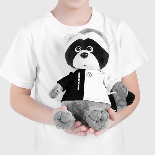 Енотик в футболке 3D Rammstein Фото 01