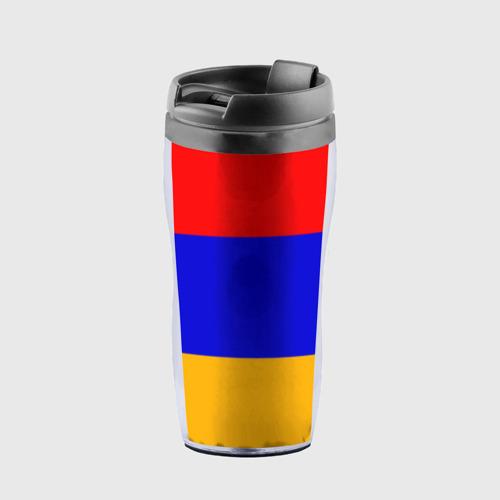 Термокружка-непроливайка Армения. Флаг.