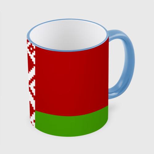 Кружка с полной запечаткой Беларусь. Флаг.