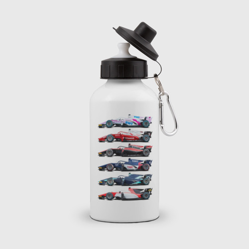 Бутылка спортивная F1 Болиды