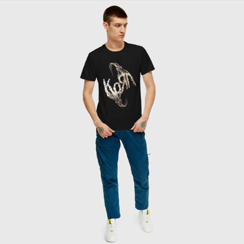 Мужская футболка хлопок Korn Фото 01