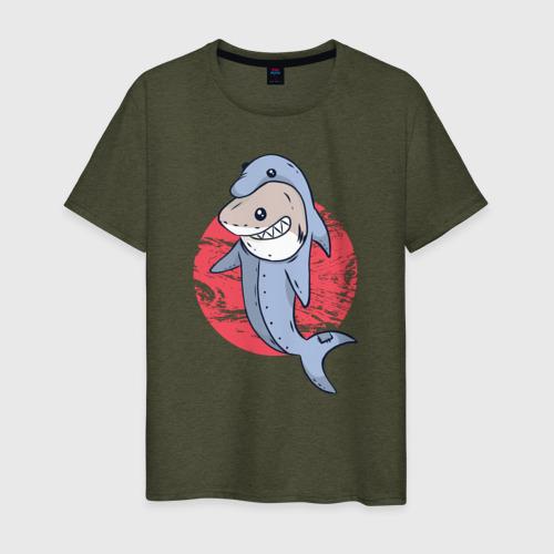 Акула в костюме Дельфина