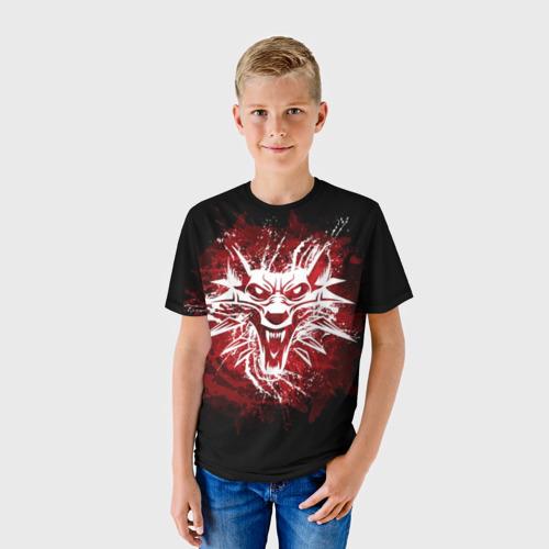 Детская футболка 3D The Witcher 3: Wild Hunt за  1090 рублей в интернет магазине Принт виды с разных сторон