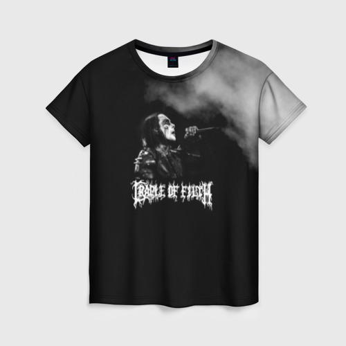 Женская футболка 3D Cradle of Filth Фото 01