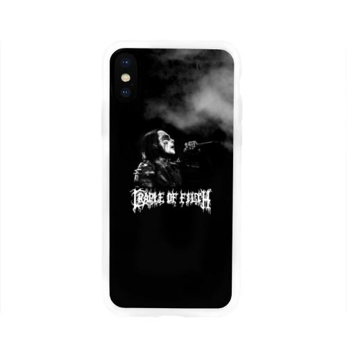 Чехол для Apple iPhone X силиконовый глянцевый Cradle of Filth Фото 01