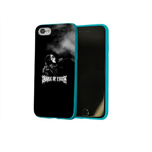 Чехол для Apple iPhone 8 силиконовый глянцевый Cradle of Filth Фото 01