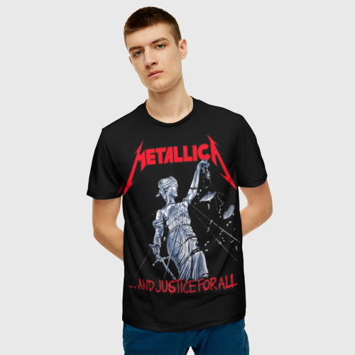 Мужская футболка 3D METALLICA | МЕТАЛЛИКА | МЕТАЛИКА  Фото 01