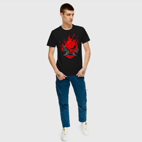 Мужская футболка хлопок CYBERPUNK 2077 KEANU REEVES   КИАНУ РИВЗ   КИБЕРПАНК 2077 Фото 01