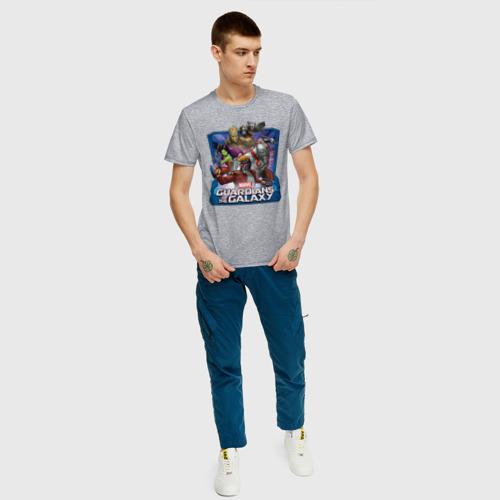 Мужская футболка хлопок Guardians of the Galaxy Фото 01