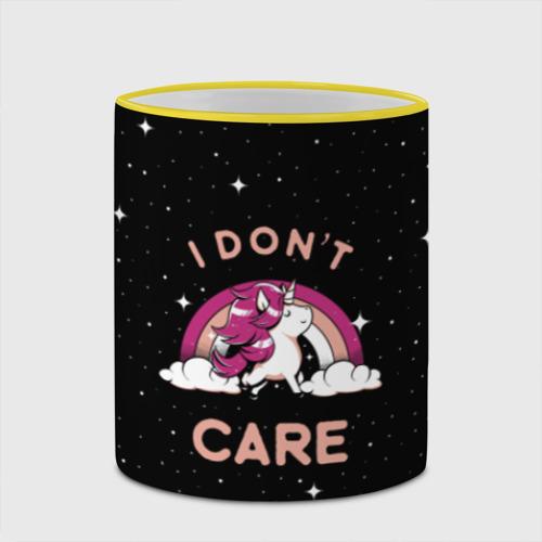 Кружка с полной запечаткой  Фото 03, Unicorn. I Don't Care