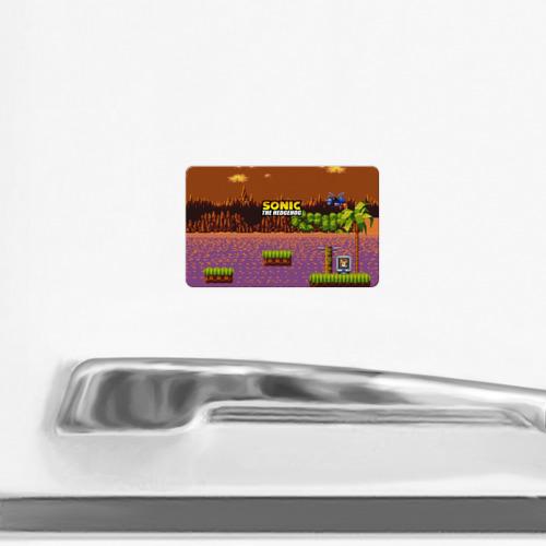 Магнит виниловый Visa  Фото 02, SONIC THE HEDGEHOG