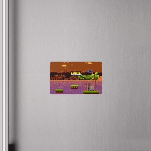 Магнит виниловый Visa  Фото 04, SONIC THE HEDGEHOG