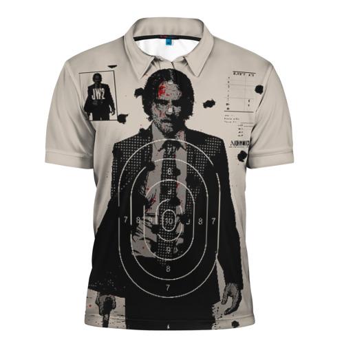 Мужская рубашка поло 3D Джон Уик 2