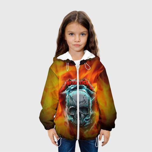 Детская куртка 3D Metallica Фото 01