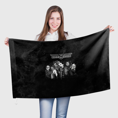 Флаг 3D Rammstein One фото