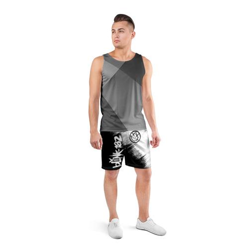 Мужские шорты спортивные Blink-182 (2) Фото 01