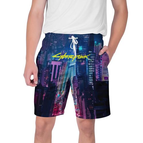 Мужские шорты 3D  Фото 01, CYBERPUNK 2077