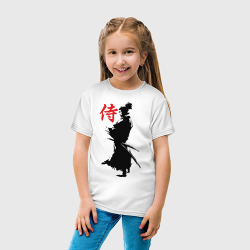 Детская футболка хлопок Самурай Фото 01