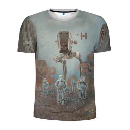 Мужская футболка 3D спортивная Army Stormtroopers Фото 01