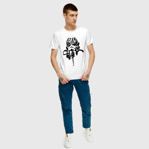 Мужская футболка хлопок Ink Stormtrooper Фото 01