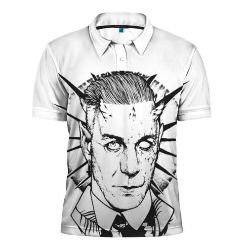 Мужская рубашка поло 3D  Фото 01, Rammstein