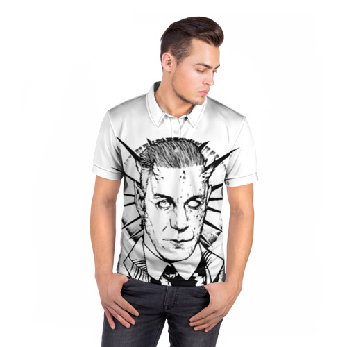 Мужская рубашка поло 3D  Фото 05, Rammstein