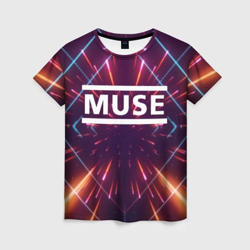 Женская футболка 3D MUSE Фото 01