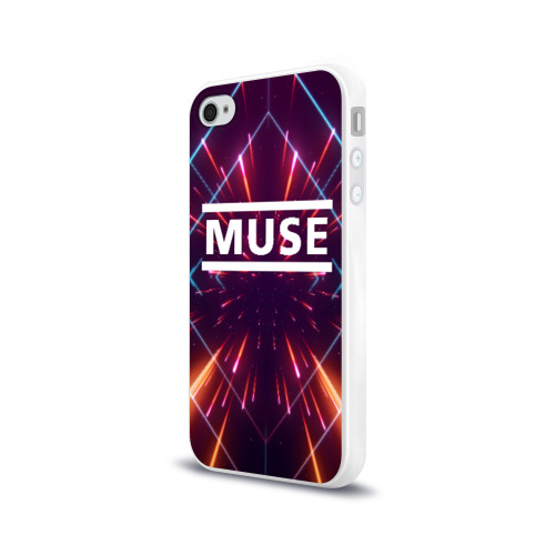 Чехол для Apple iPhone 4/4S силиконовый глянцевый MUSE Фото 01