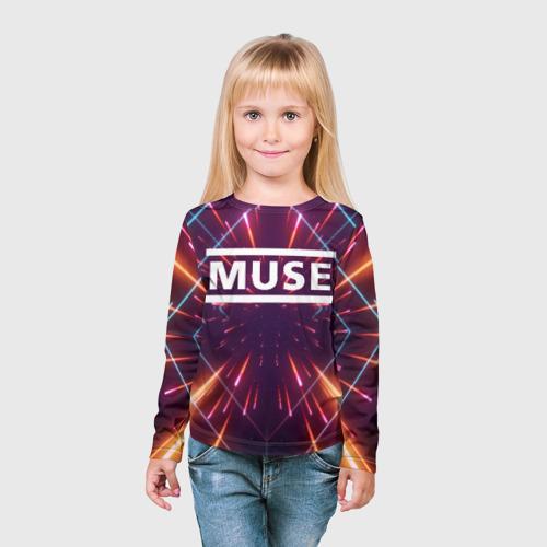 Детский лонгслив 3D MUSE Фото 01