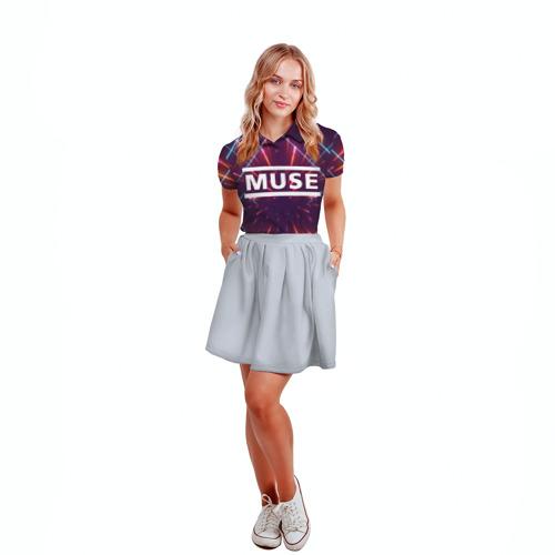 Женская рубашка поло 3D MUSE Фото 01