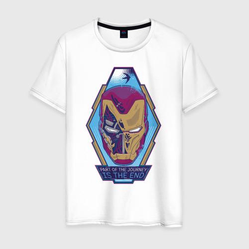 Мужская футболка хлопок Iron Man Endgame