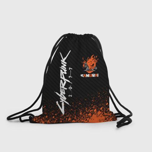 Рюкзак-мешок 3D Cyberpunk 2077 (1) One фото