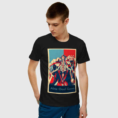 Мужская футболка хлопок AINZ OOAL GOWN Poster Фото 01