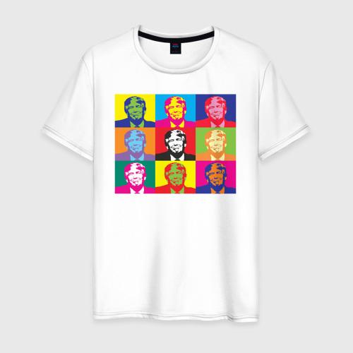 Мужская футболка хлопок Дональд Трамп.