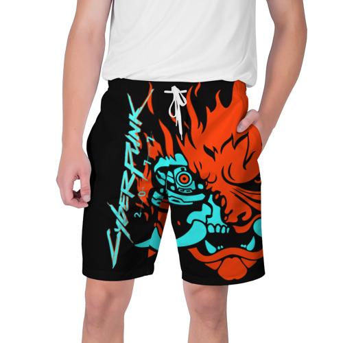 Мужские шорты 3D Cyberpunk 2077 Фото 01