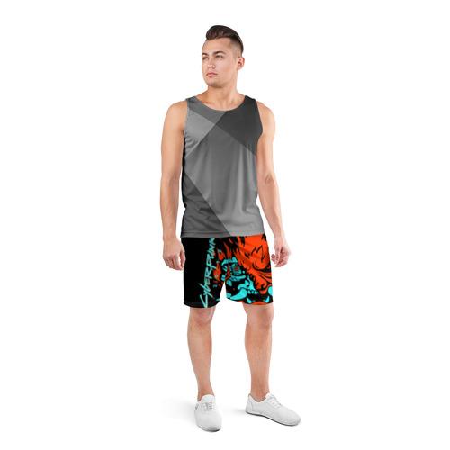 Мужские шорты спортивные Cyberpunk 2077 Фото 01