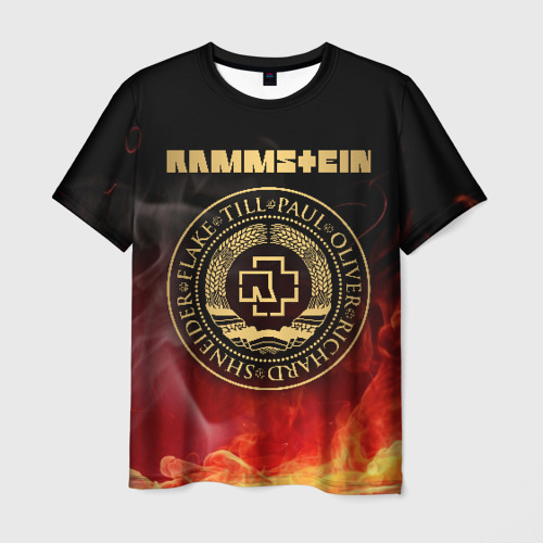 Мужская футболка 3D  Фото 03, Rammstein