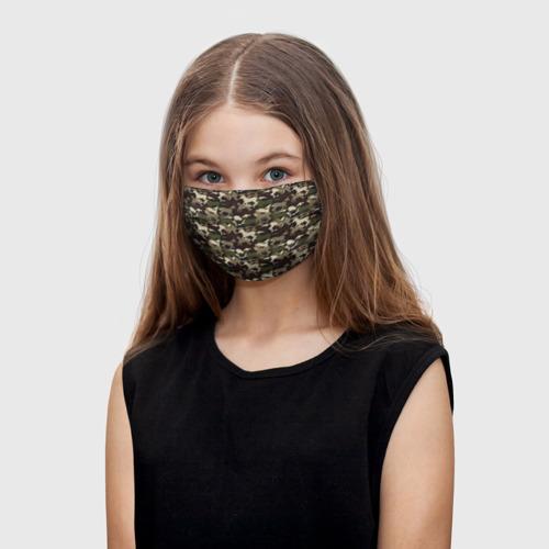 Детская маска (+5 фильтров) Камуфляж One фото