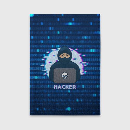 Обложка для автодокументов Хакер Фото 01