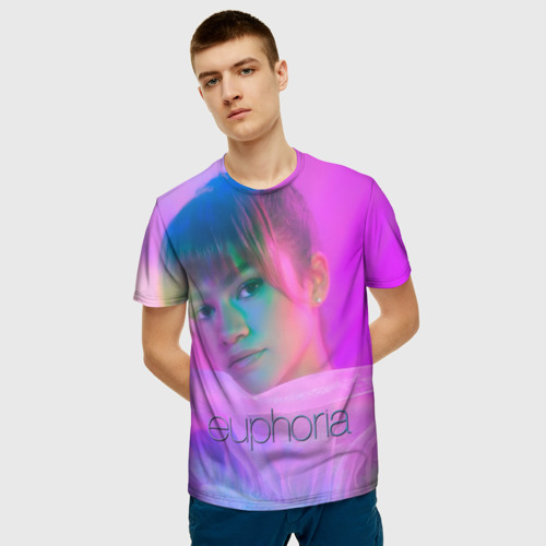 Мужская футболка 3D сериал Euphoria Фото 01