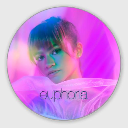 Коврик для мышки круглый сериал Euphoria Фото 01